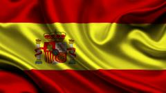 Wavy Spain Flag Wallpaper 50696