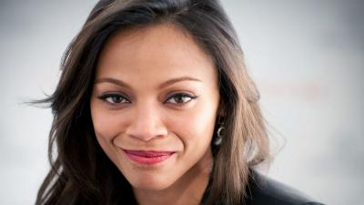 Zoe Saldana Face Wallpaper 51951