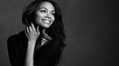 Zoe Saldana Smile Wallpaper 51948