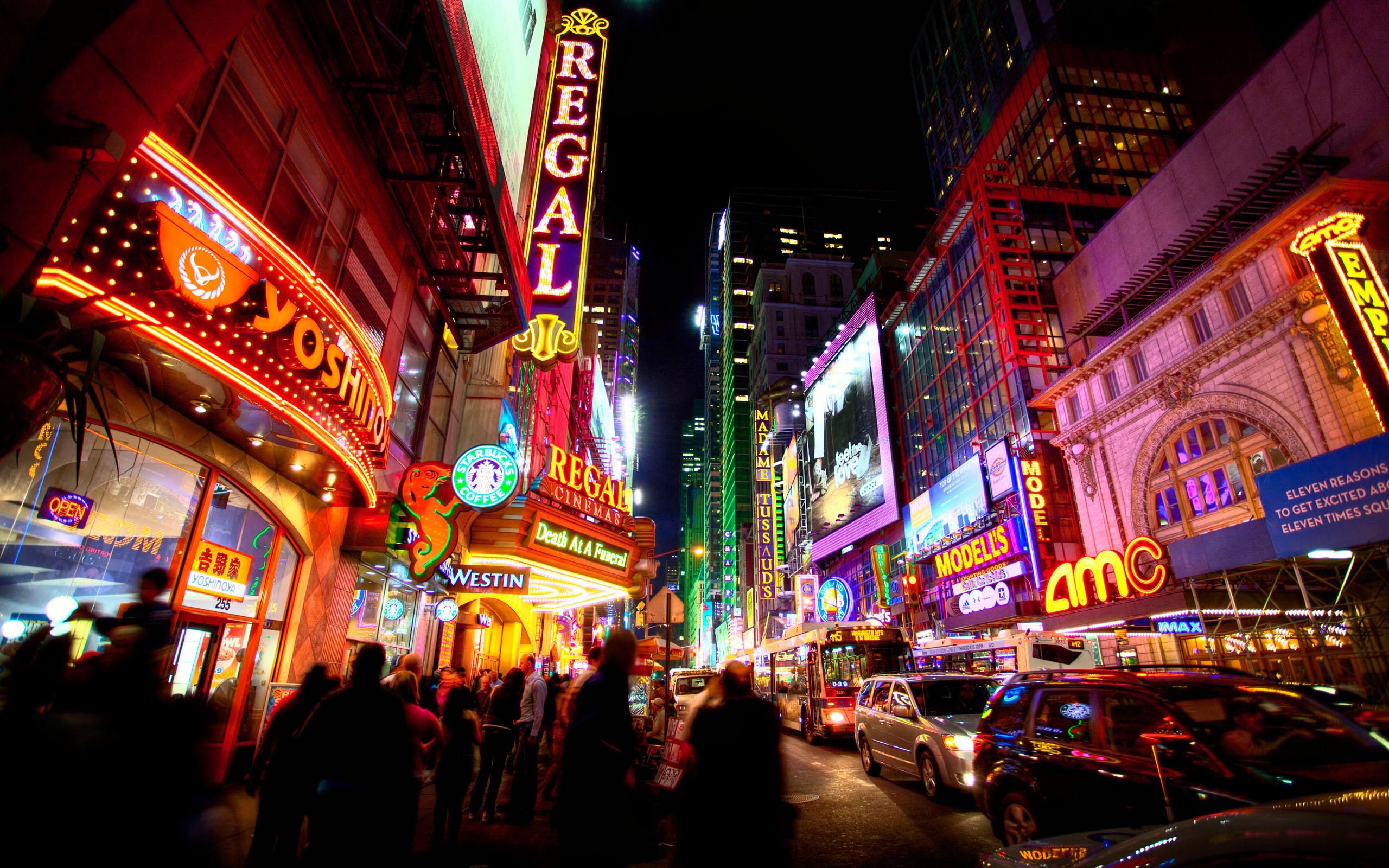 Times Square Widescreen Wallpaper 51017