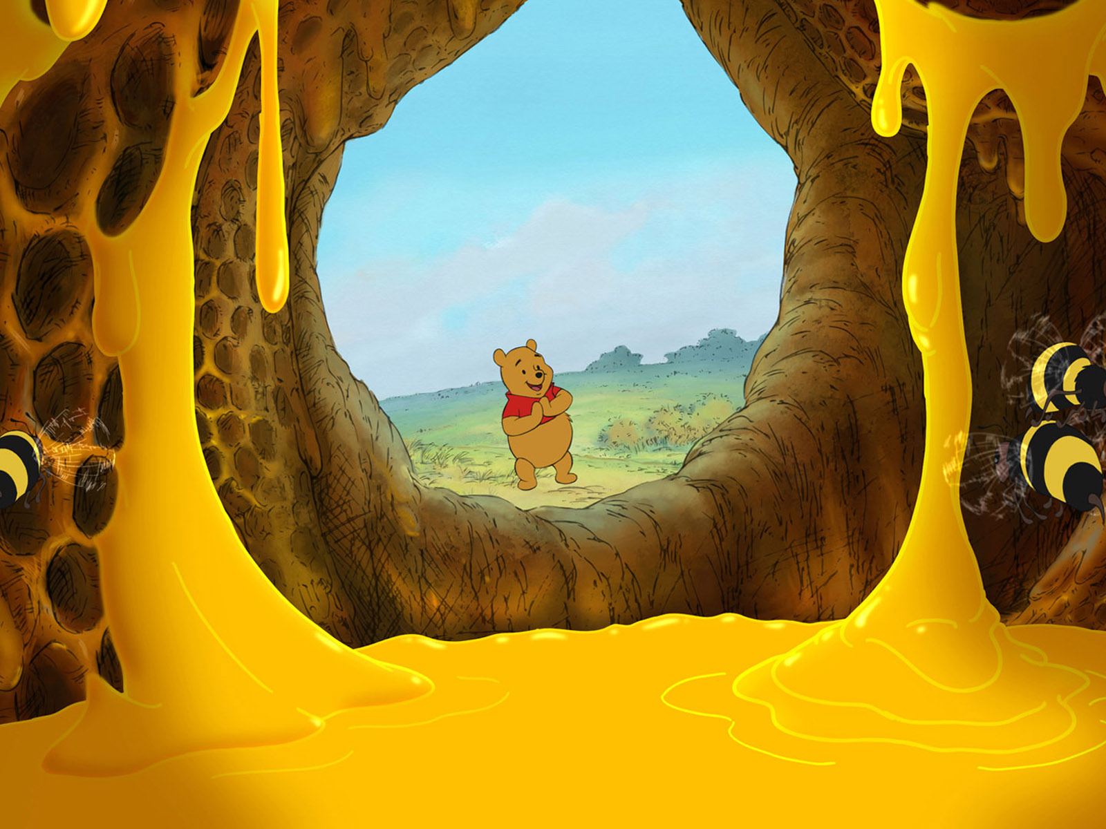winnie the pooh honey computer wallpaper 51787