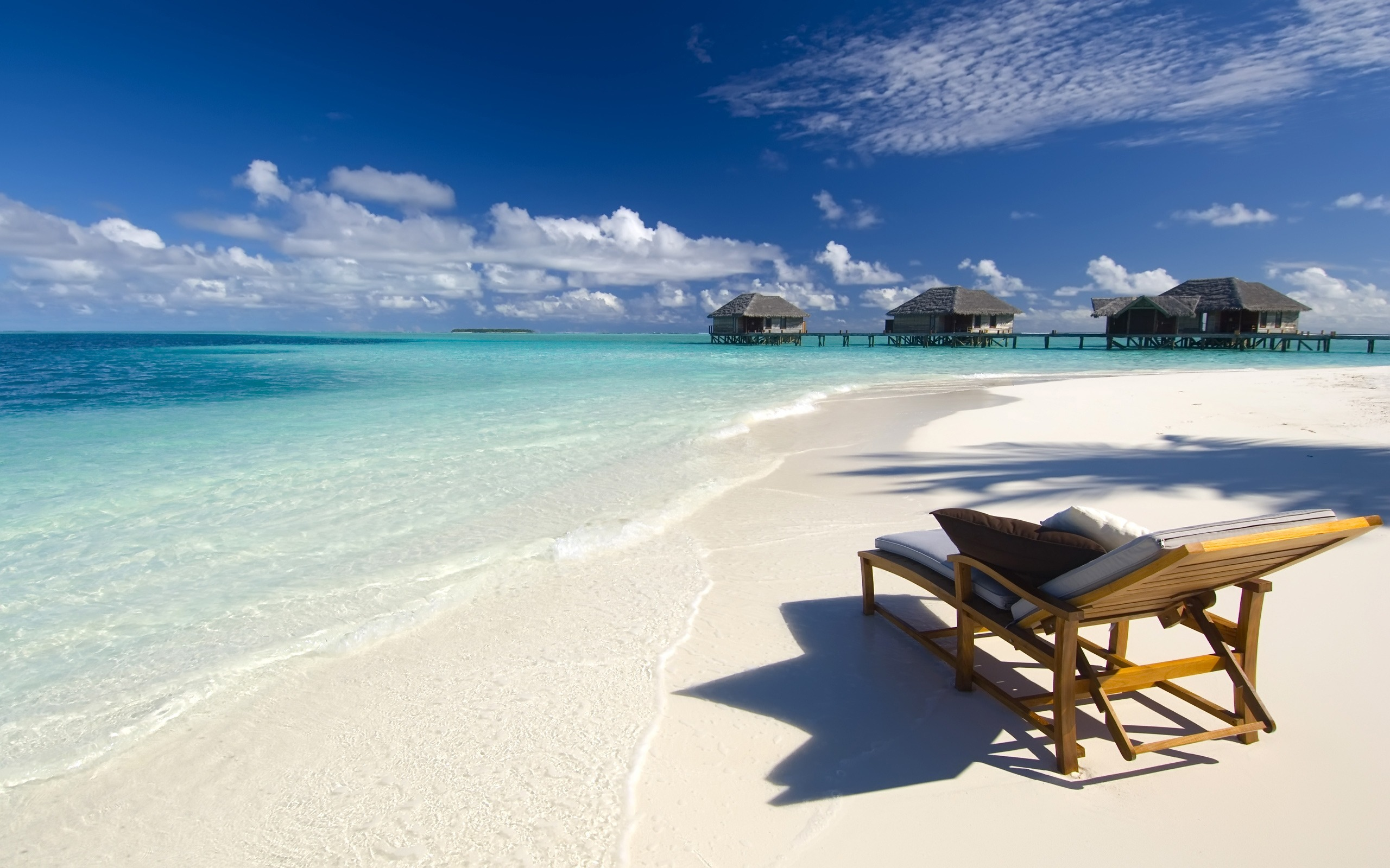 beach lounge chair wallpaper 50275
