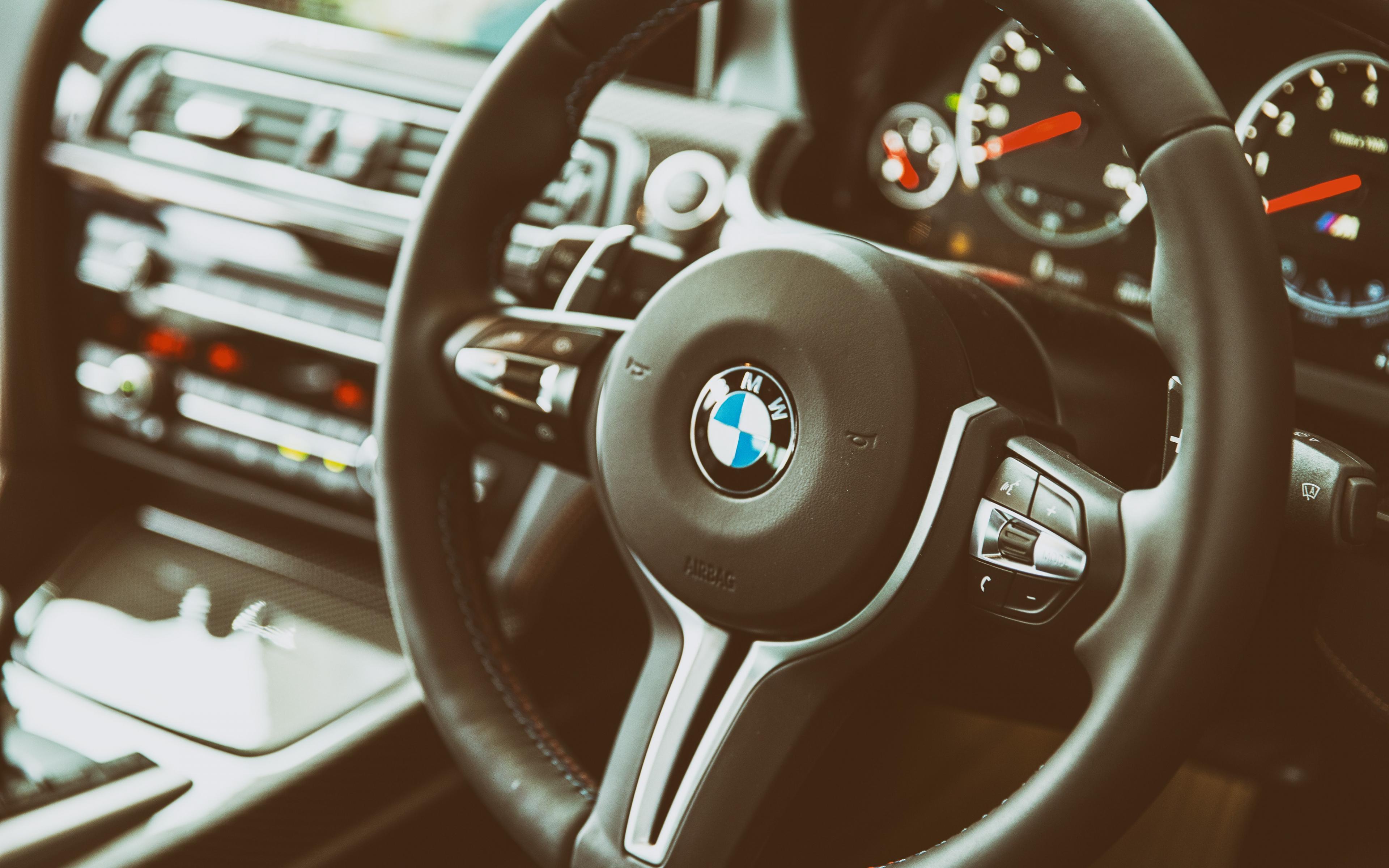 bmw steering wheel widescreen wallpaper 50218
