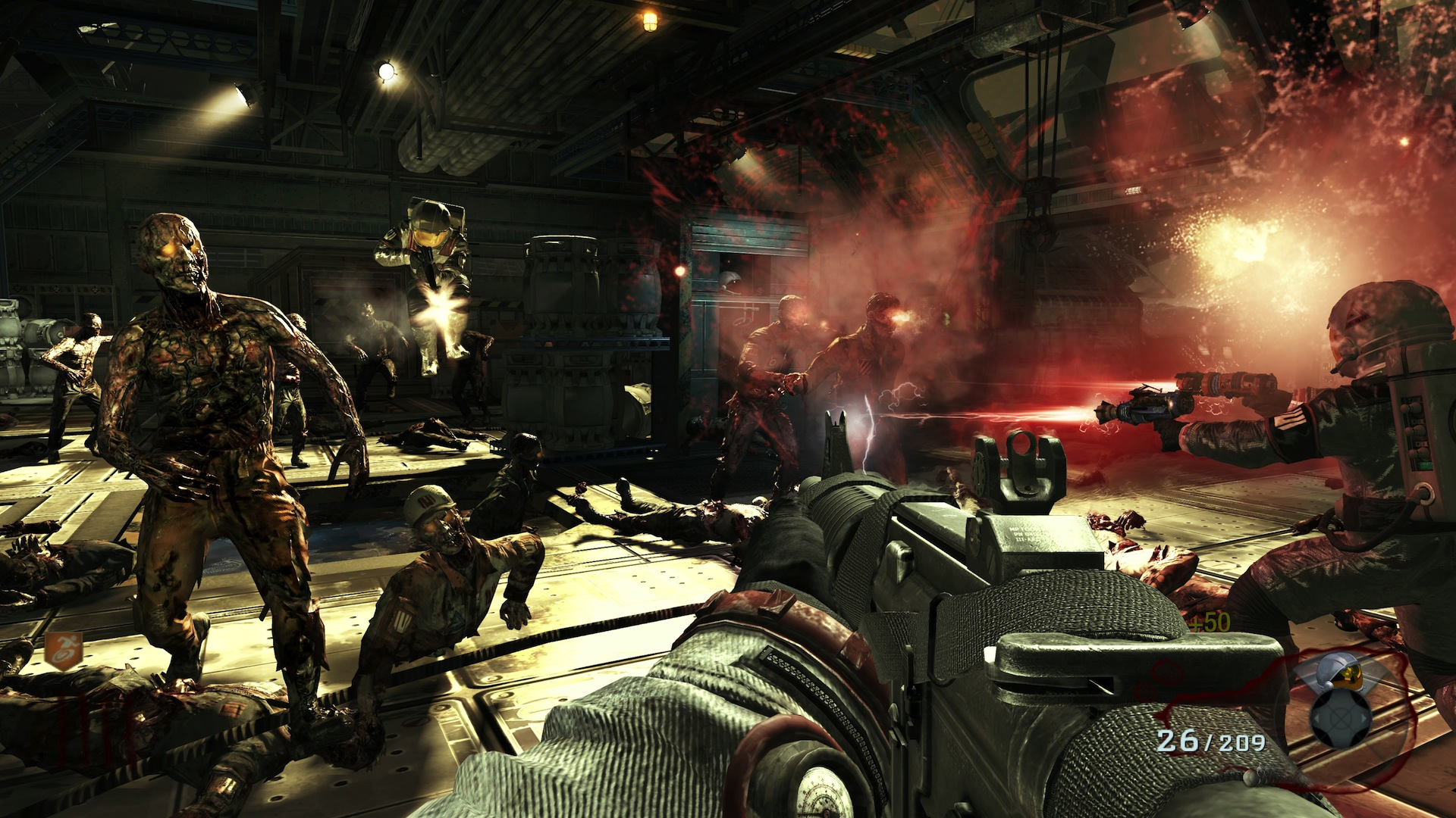 call of duty zombies moon gameplay wallpaper 52277