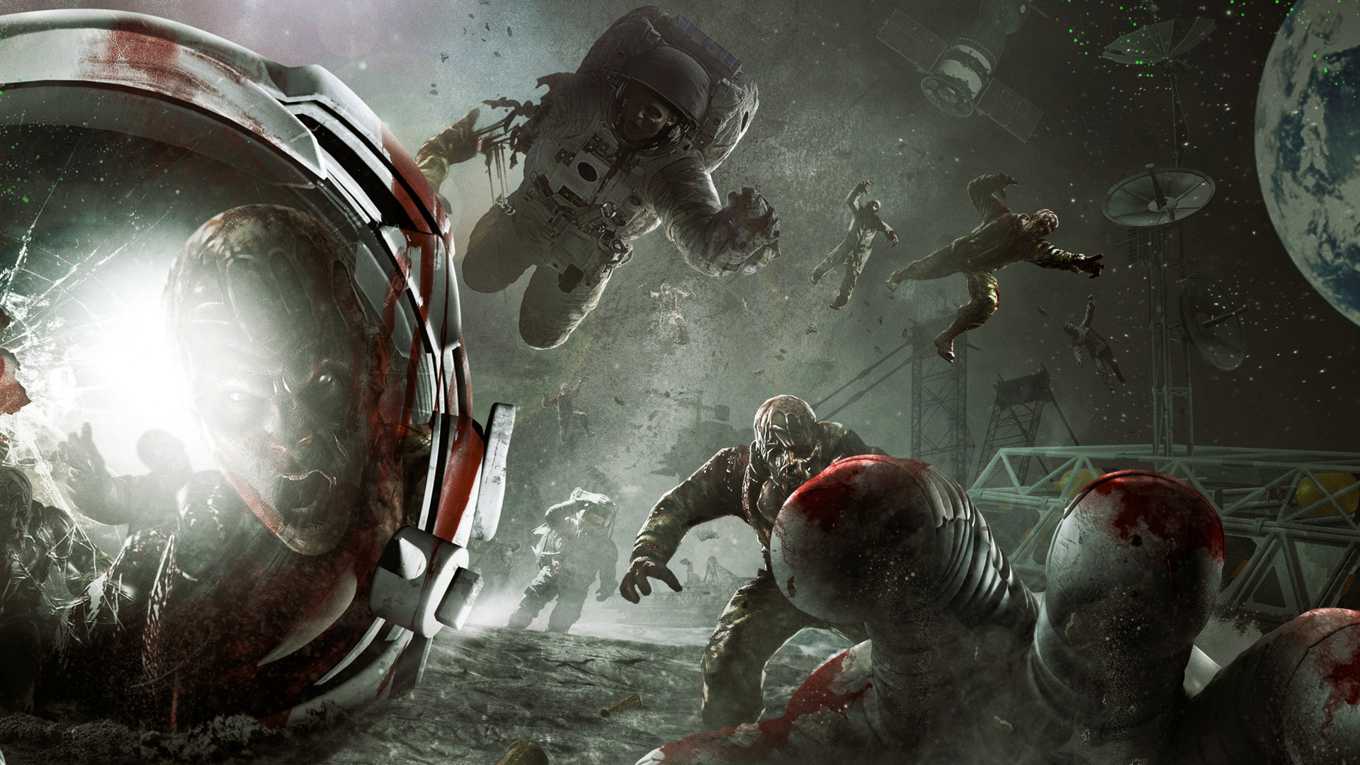 Call Duty Zombies Moon Wallpaper px