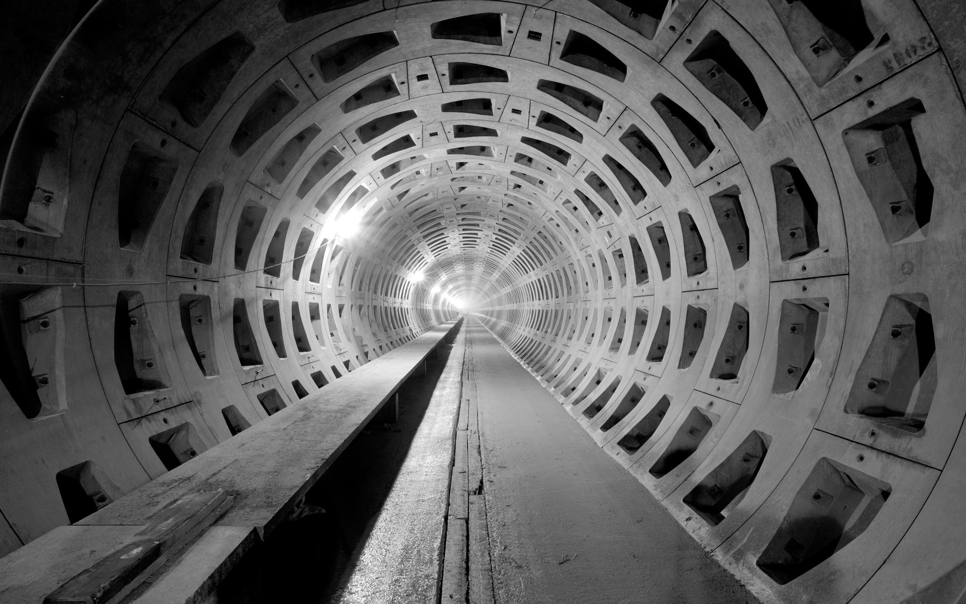 Concrete Tunnel Desktop Wallpaper 50233 1920x1200 px ...