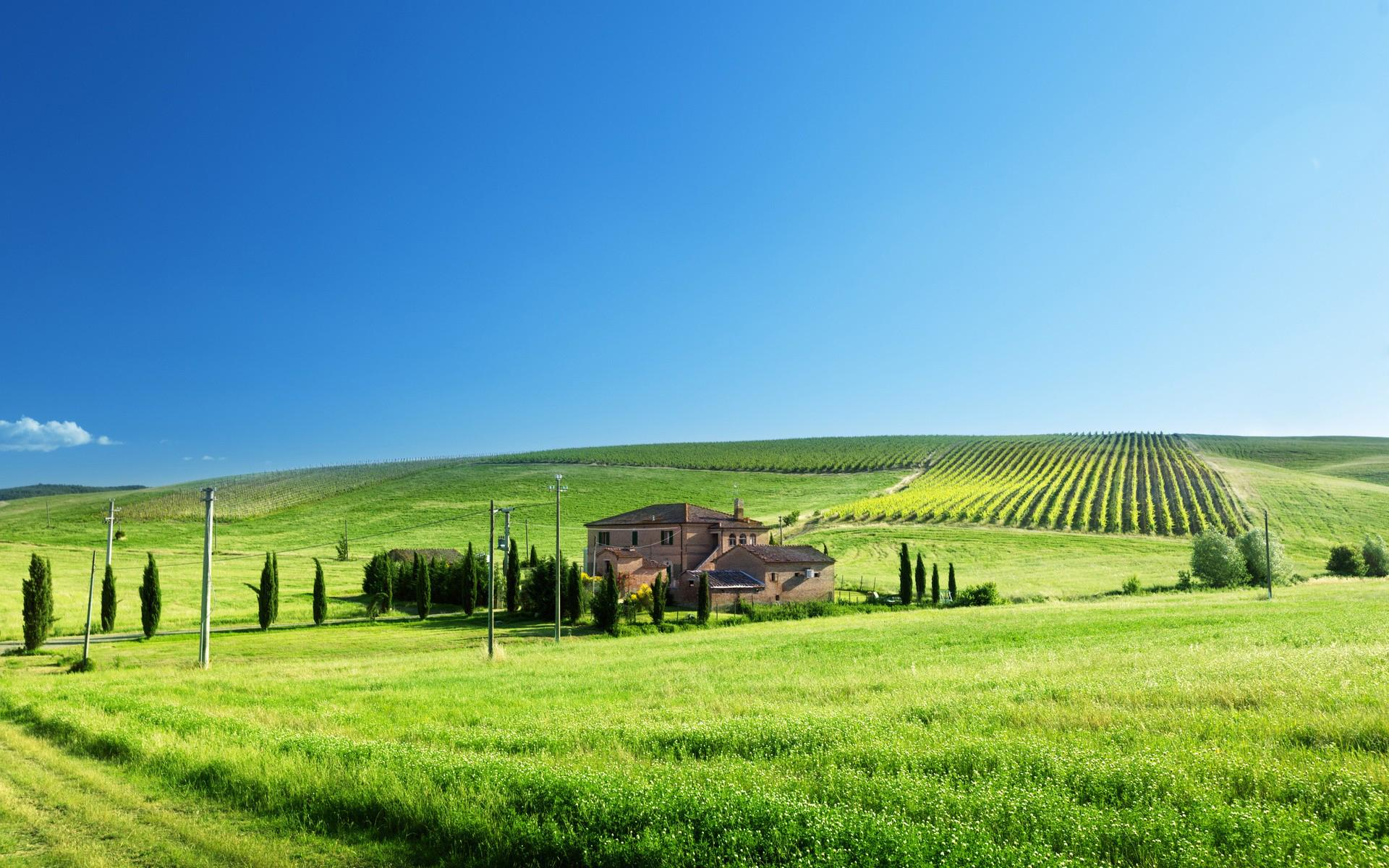 farm landscape wallpaper 50436