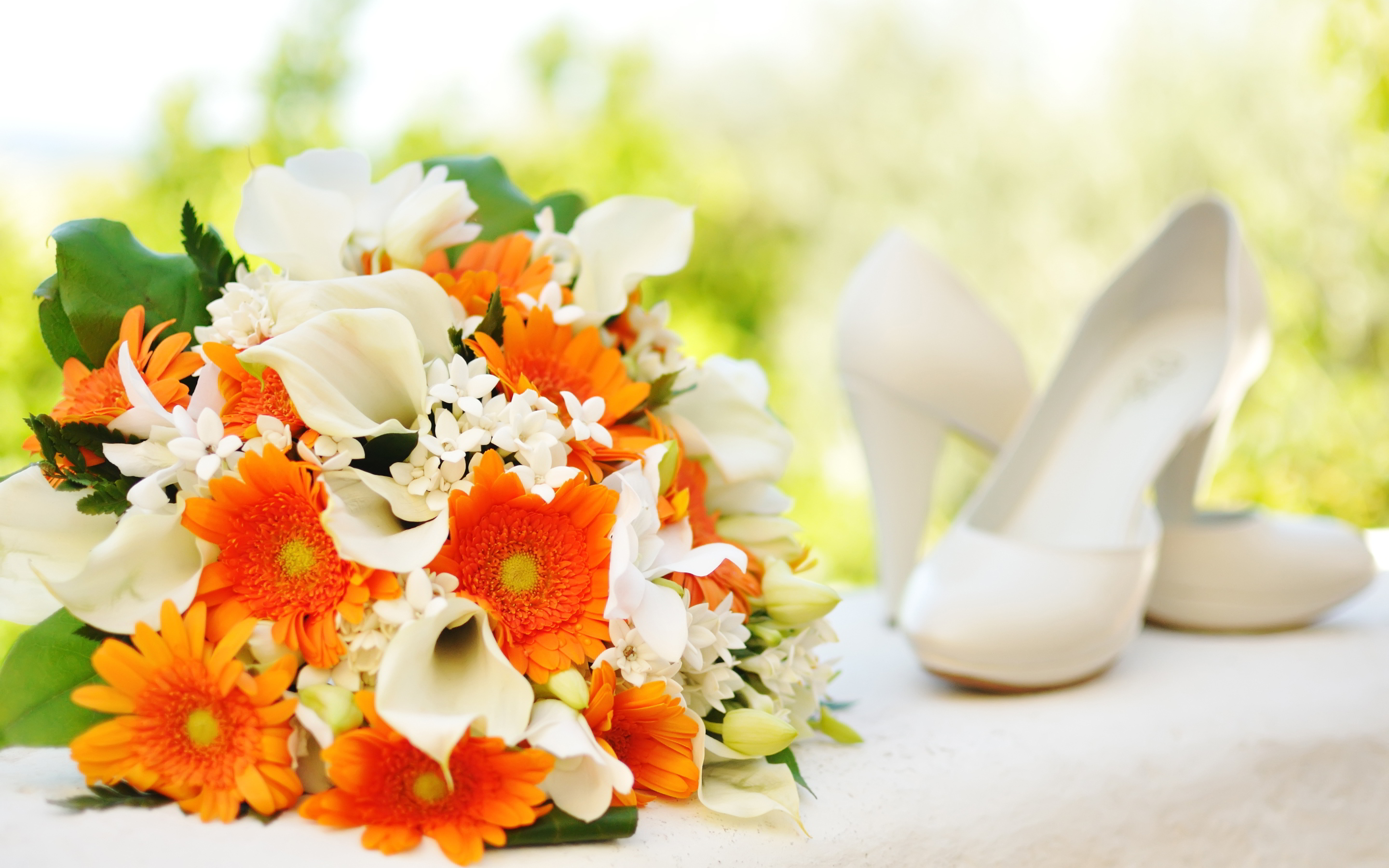 flower bouquet widescreen wallpaper 52253