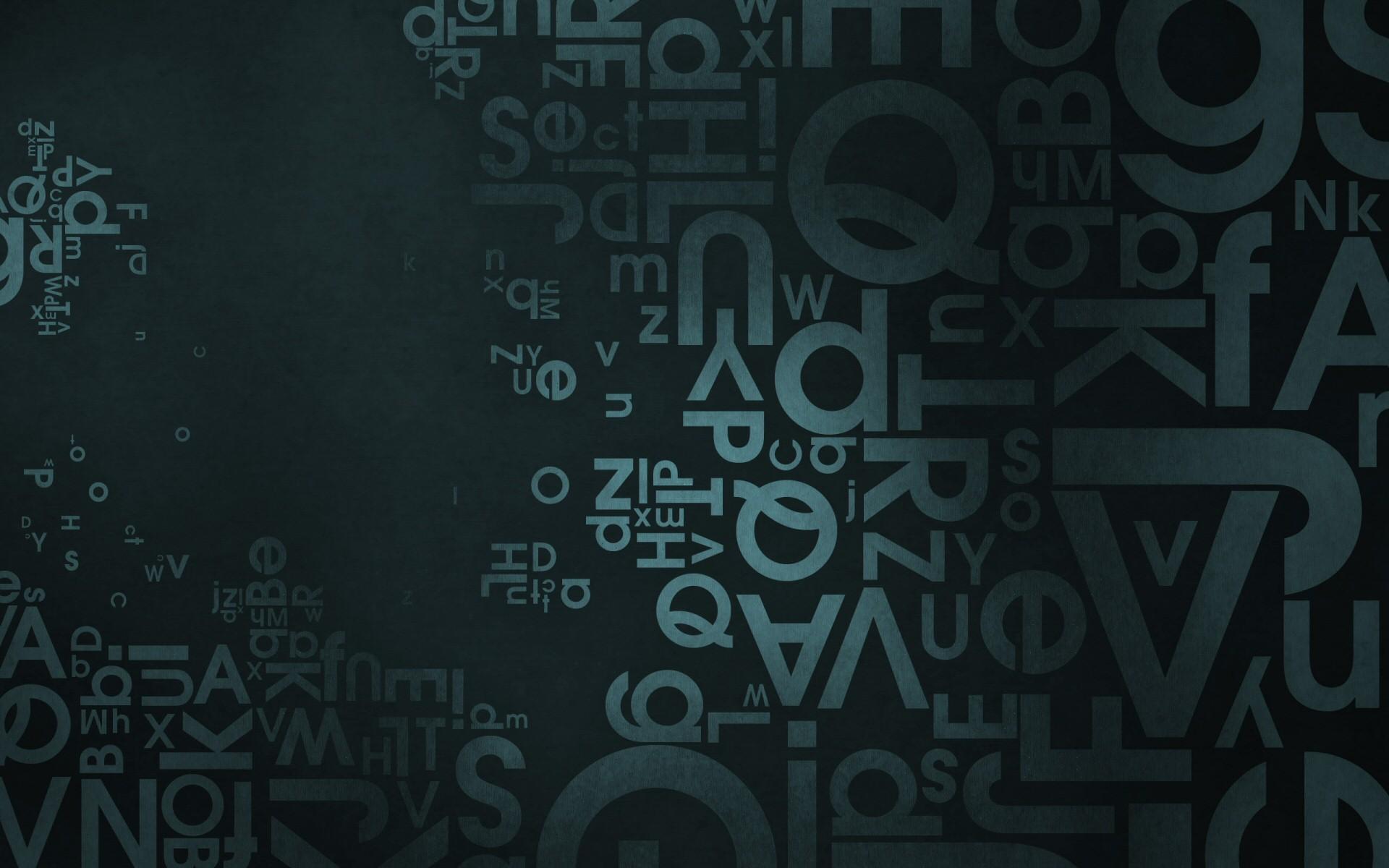 letters desktop wallpaper 51099
