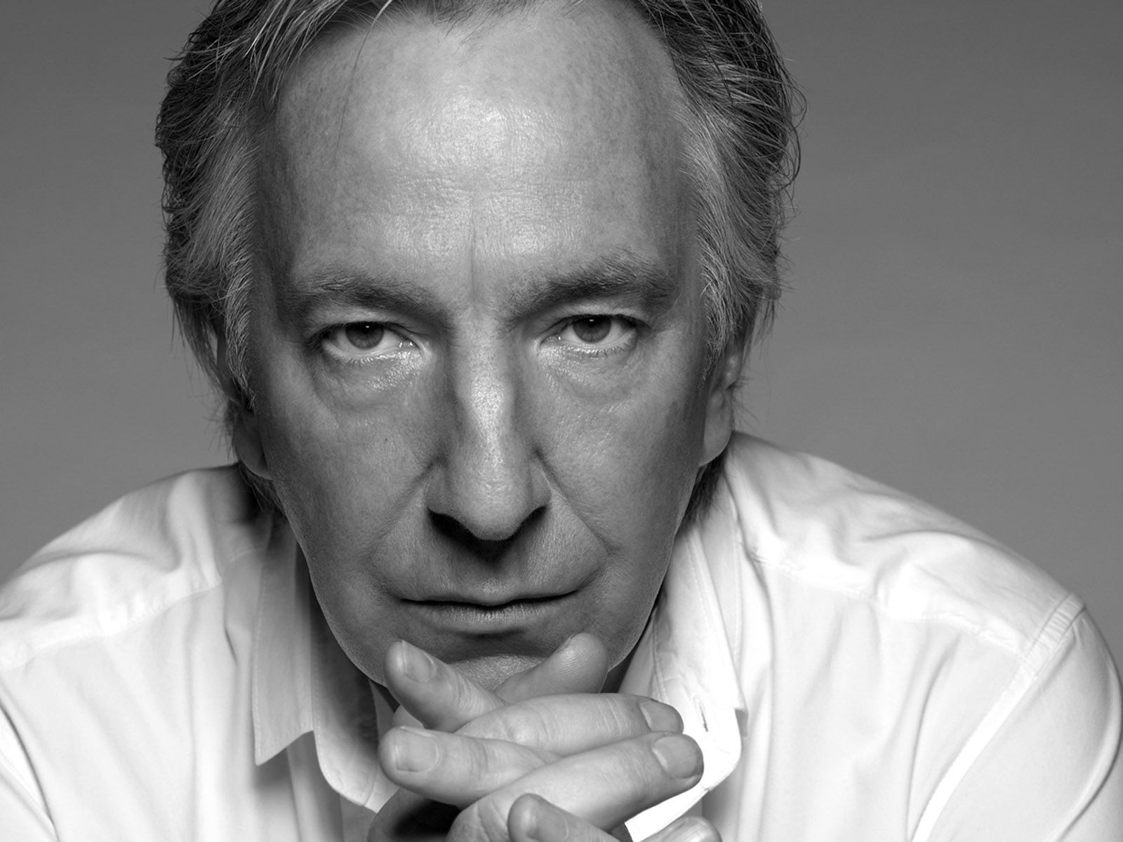 monochrome alan rickman wallpaper 58115