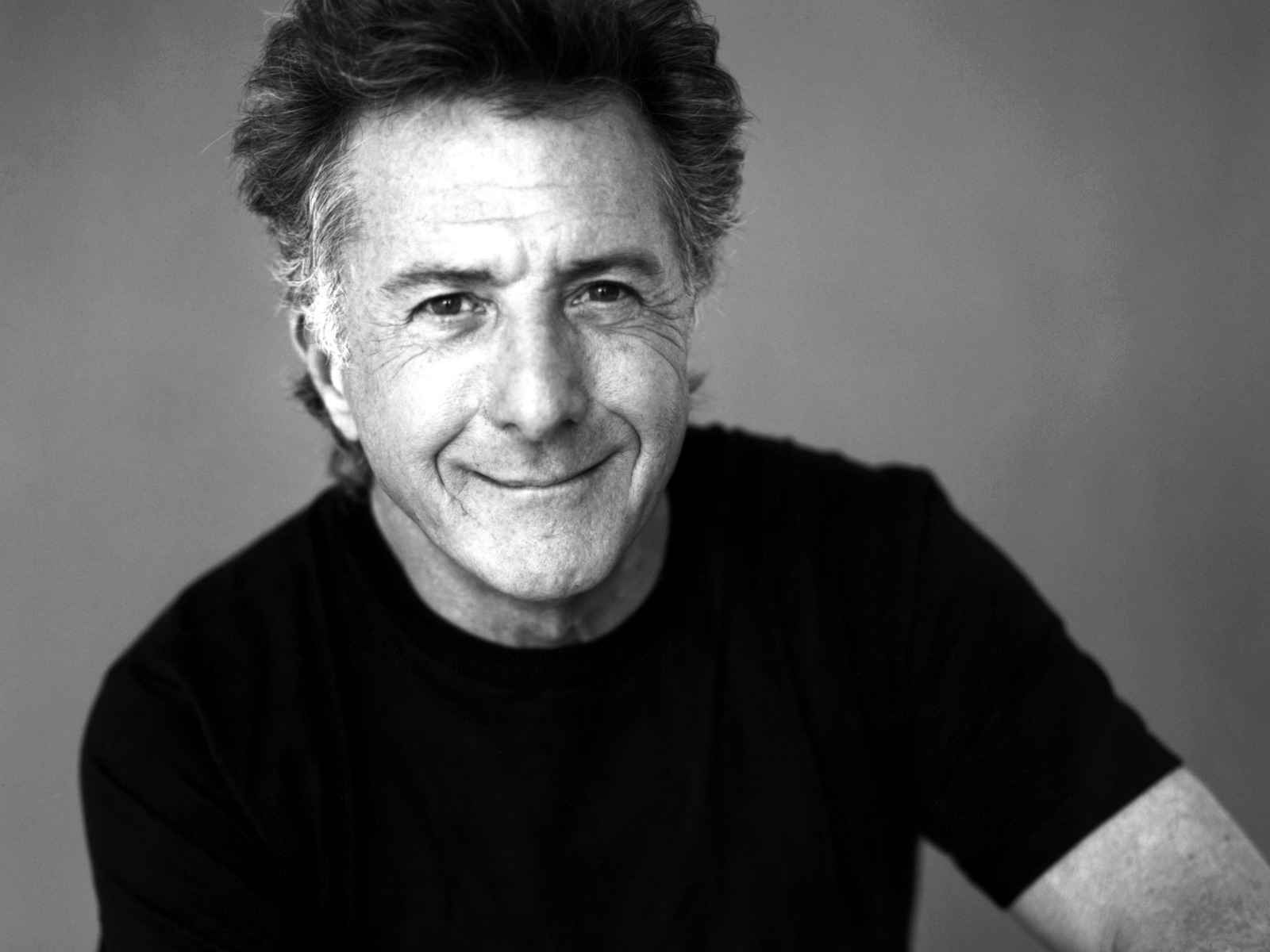 monochrome dustin hoffman computer wallpaper 56421
