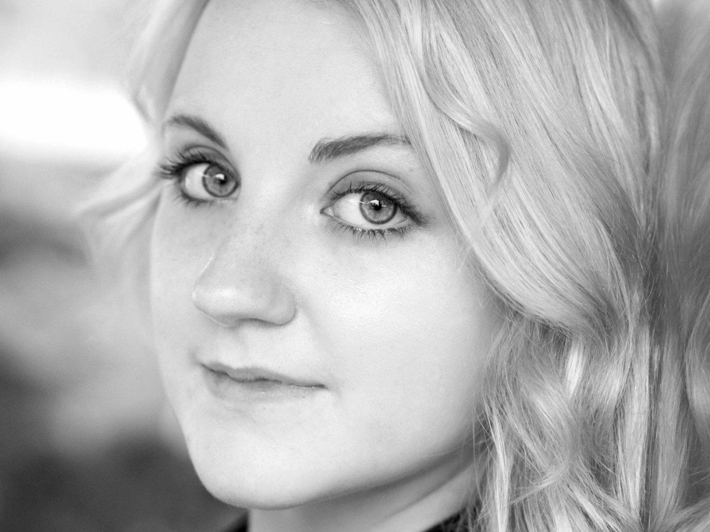 monochrome evanna lynch face wallpaper 58123