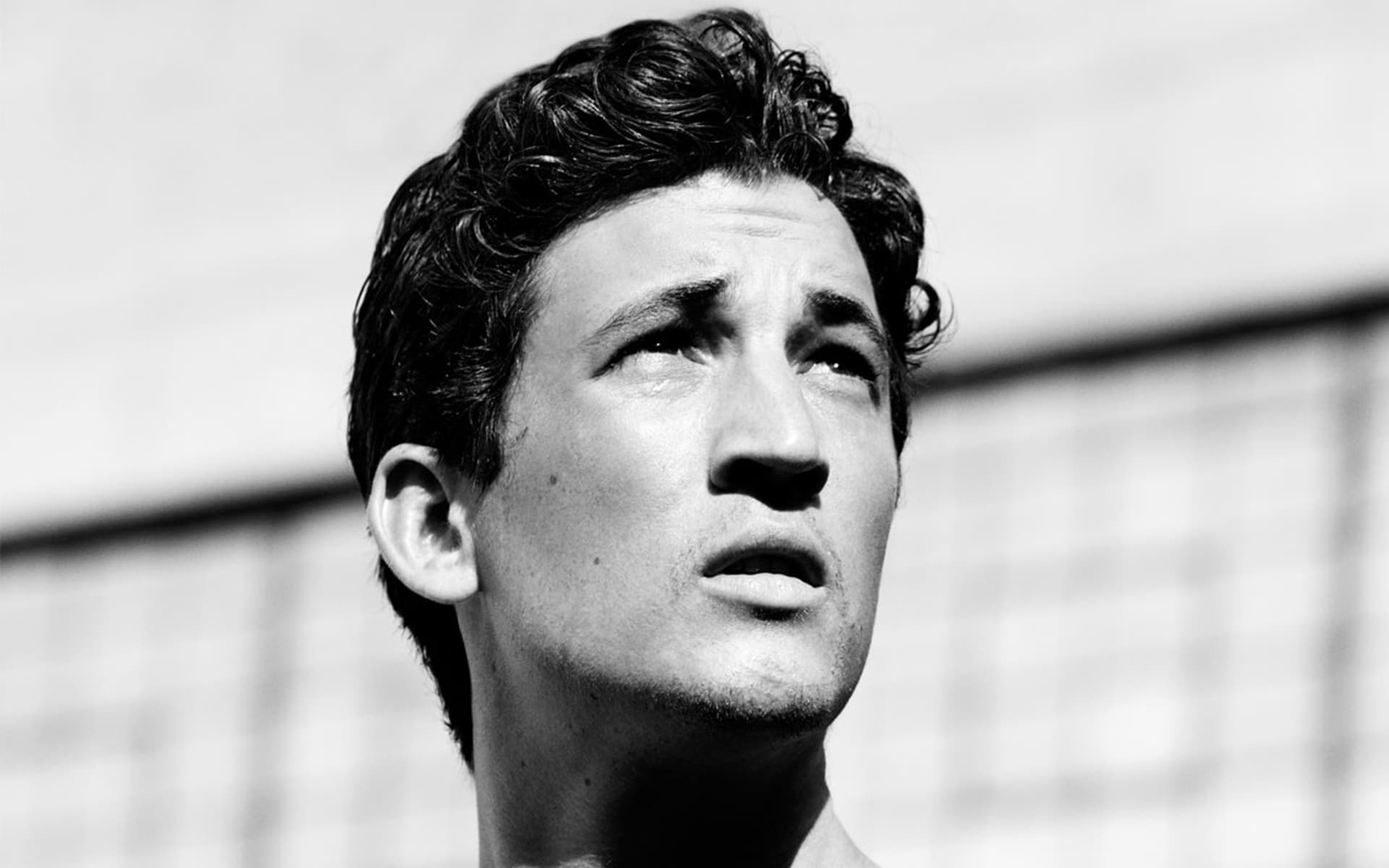 monochrome miles teller face wallpaper 55695