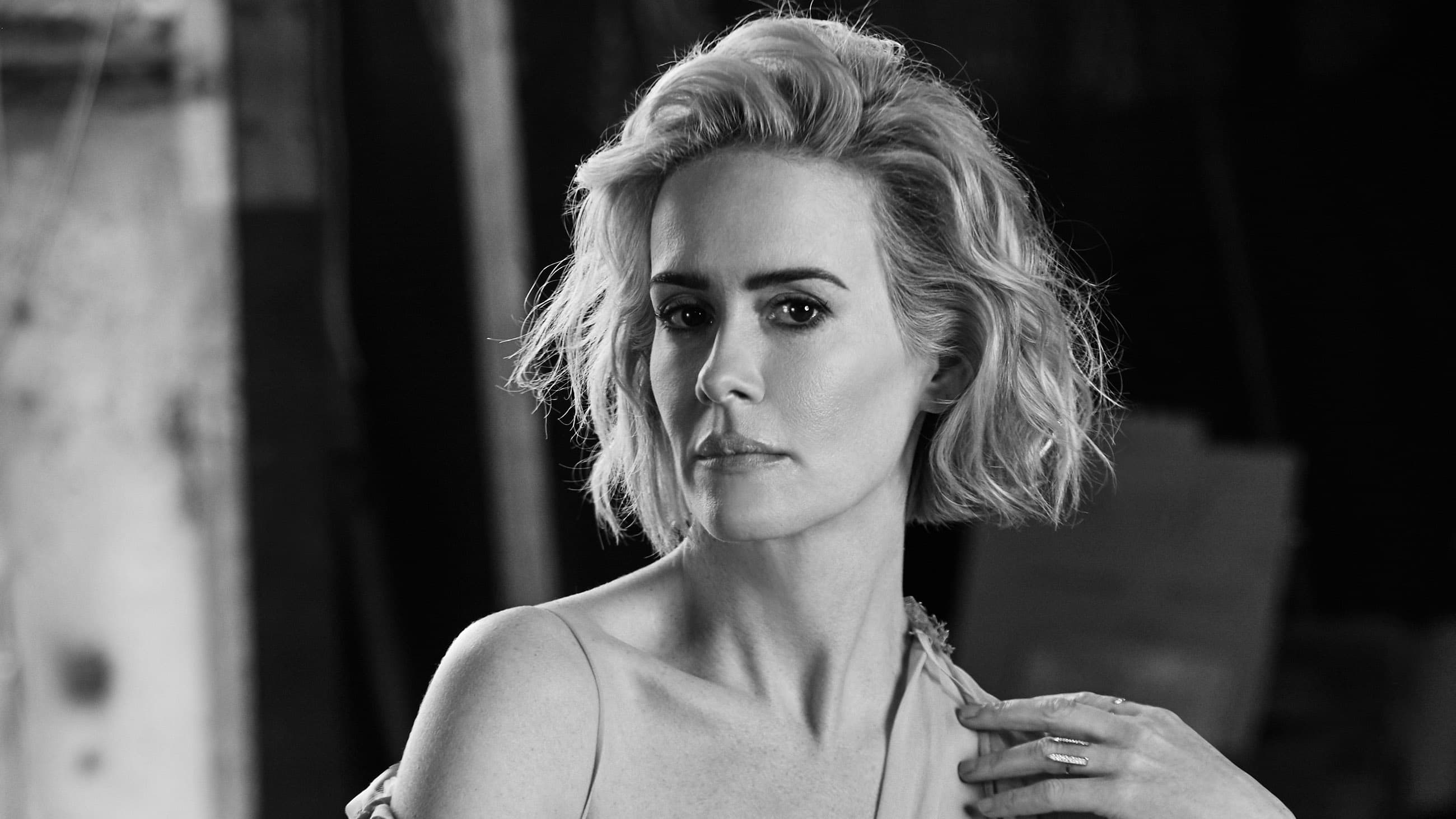 monochrome sarah paulson wallpaper 55740