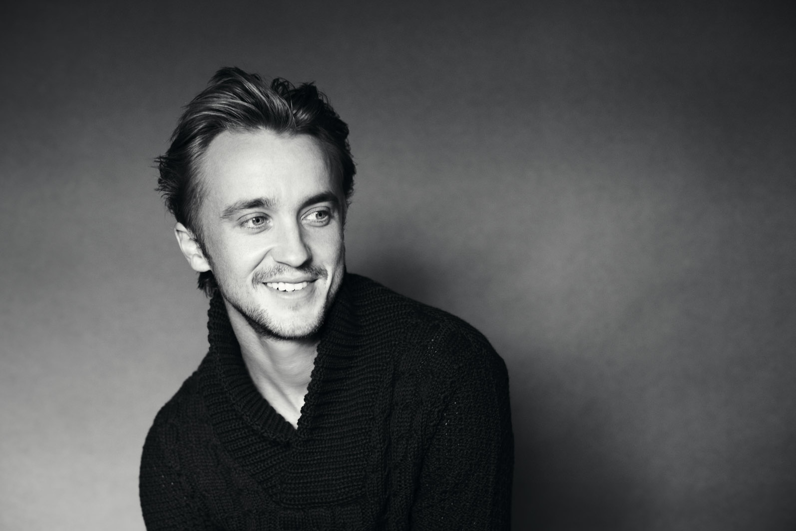 monochrome tom felton wallpaper 58127