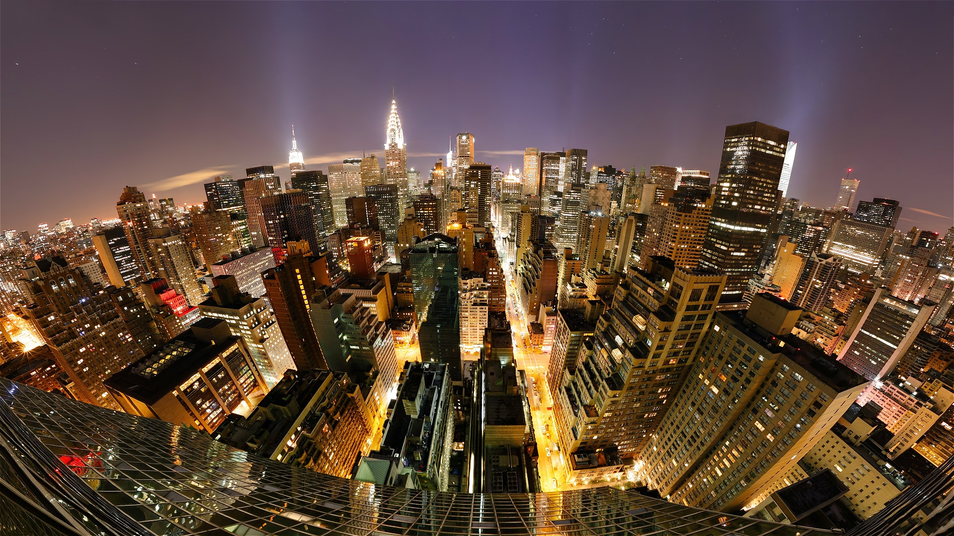 new york fisheye photography wallpaper 50213