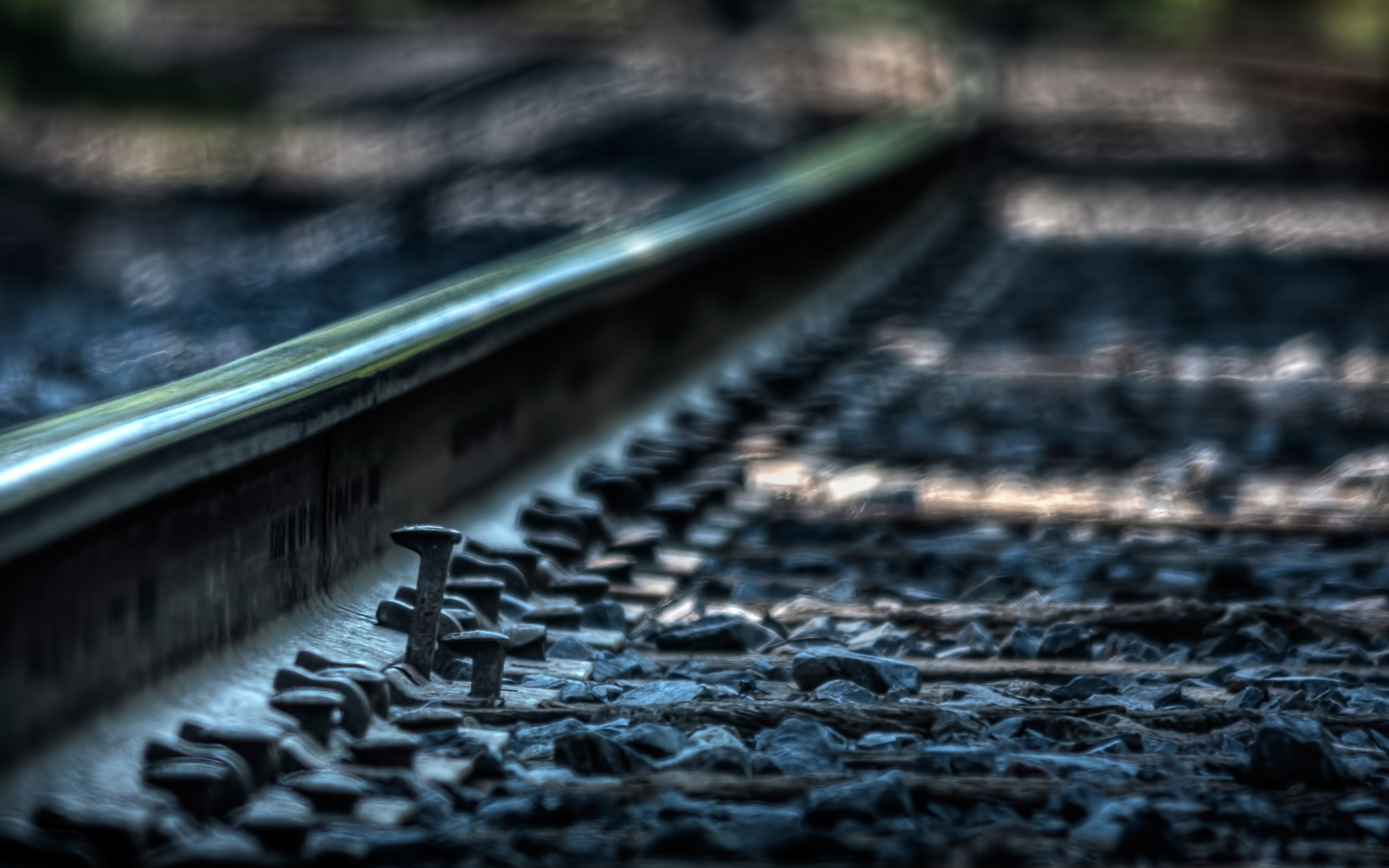 railroad macro wallpaper background 49152