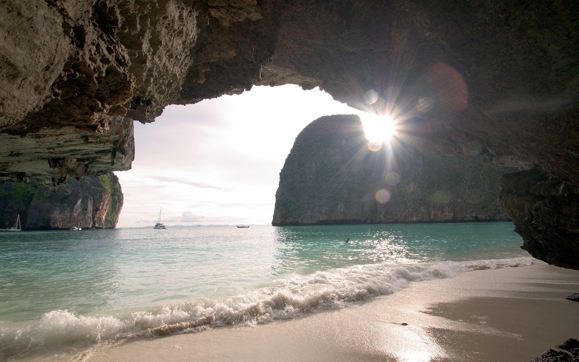 sea cave desktop wallpaper 52613