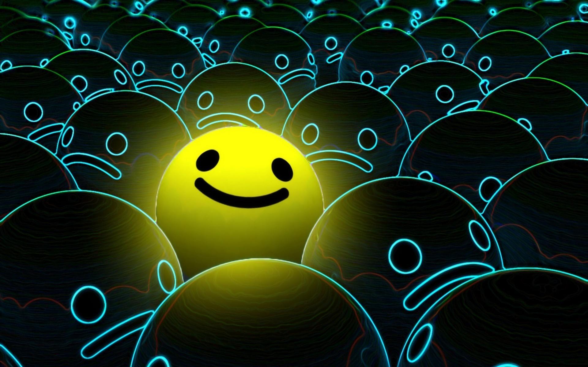 Smiley face desktop wallpaper 49025 1920x1200 px hdwallsource smiley face desktop wallpaper 49025 voltagebd Gallery