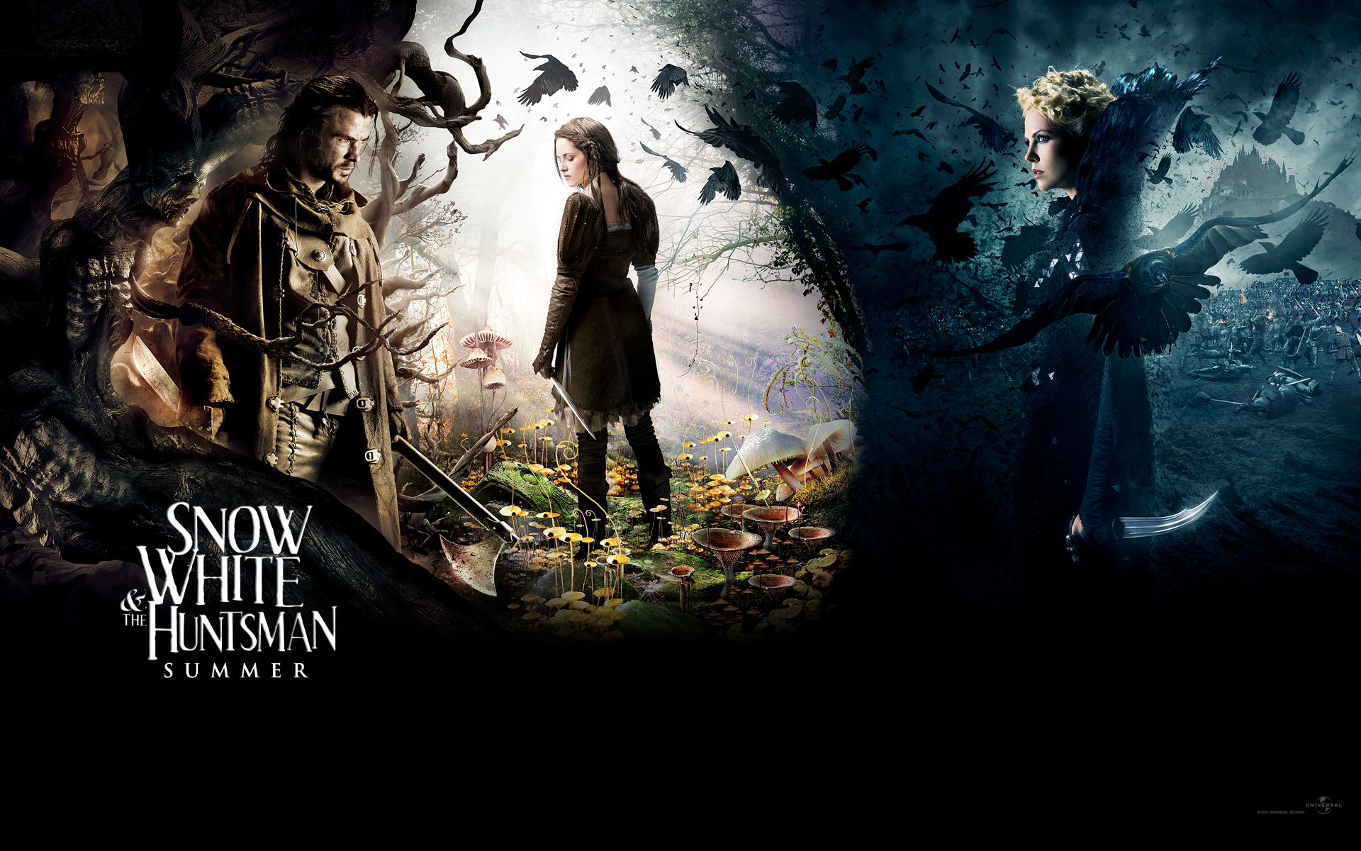 snow white and the huntsman movie poster wallpaper 51040