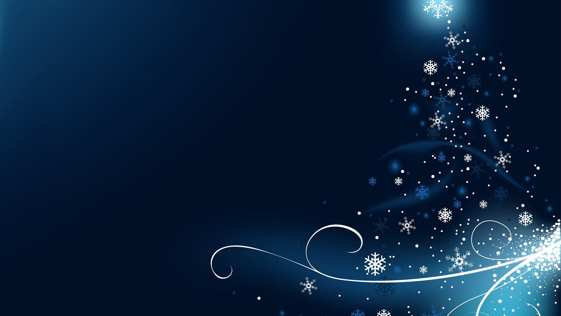 snowflake tree wallpaper 49059