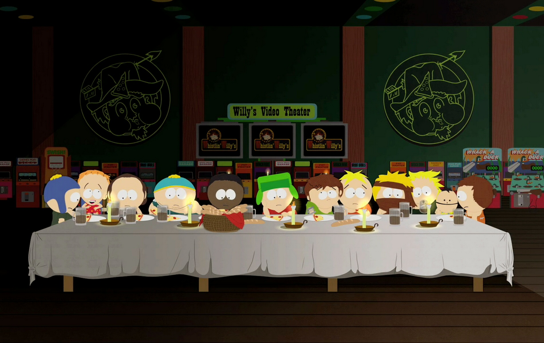 south park last supper wallpaper 52304