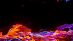 Abstract Colorful Fire Wallpaper 49345