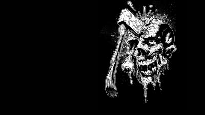 Axed Zombie Computer Wallpaper 52284