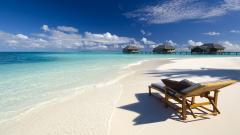 Beach Lounge Chair Wallpaper 50275