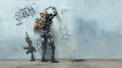 Chappie Movie Wallpaper Background 49142