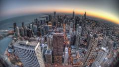 City Fisheye Photography Widescreen Wallpaper 50210