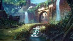 Digital Castle Painting Wallpaper 50545