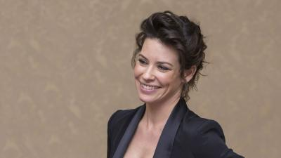 Evangeline Lilly Smile Widescreen Wallpaper 55288