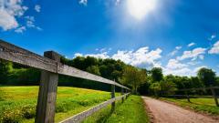 Farm Fence Wide Wallpaper 50435