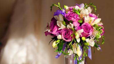Flower Bouquet Desktop Wallpaper 52258