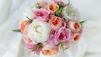 Flower Bouquet Wide Wallpaper 52255