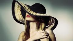 Hat Woman Computer Wallpaper 49849