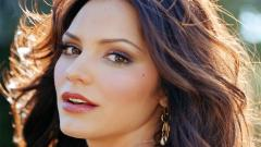 Katharine McPhee Face Wallpaper 50255