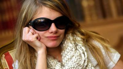 Melanie Laurent Glasses Wallpaper 53776