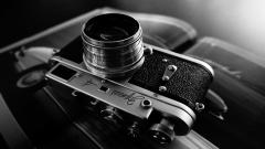 Monochrome Camera Lens Wallpaper 49995