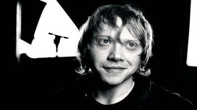 Monochrome Rupert Grint Wallpaper 55528