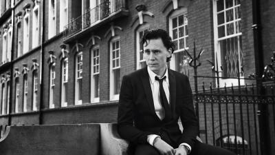 Monochrome Tom Hiddleston Celebrity Wallpaper 55667