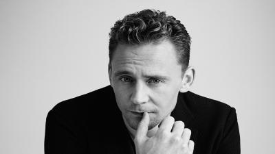 Monochrome Tom Hiddleston Wallpaper 55660