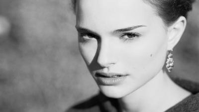 Natalie Portman Face Widescreen Wallpaper 52223