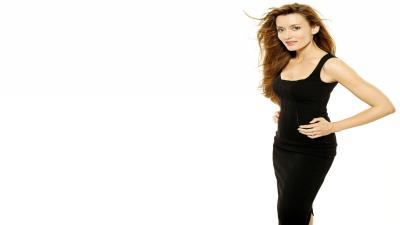 Natascha Mcelhone Black Dress Wallpaper 53725