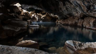 Nature Cave Water Wallpaper 52608
