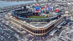 New York Mets Stadium Wide Wallpaper 50287