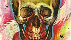 Psychedelic Skull Wallpaper 50042