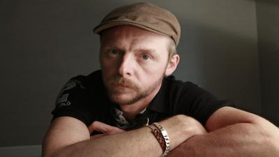 Simon Pegg Actor Wallpaper 56387