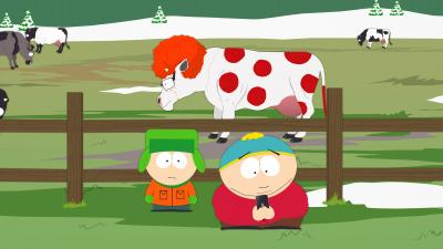 South Park Ginger Cow Widescreen Wallpaper 52303